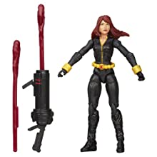 Marvel Avengers Assemble Inferno Cannon Black Widow Figure
