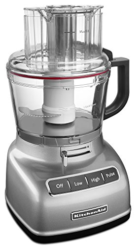 KitchenAid KFP0933CU 9-Cup Food Processor with Exact Slice System, Contour Silver by KitchenAid (Image #1)