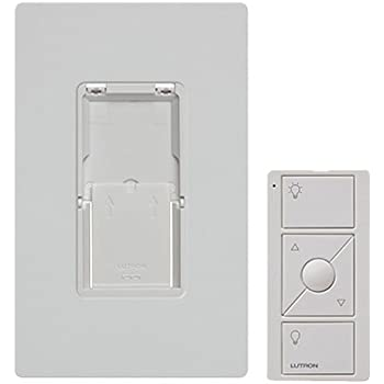 Caseta Wireless Pico Wall-Mounting Kit, PJ2-WALL-WH-L01, White