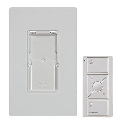Lutron Wireless Switch >> Lutron Caseta Wireless Pico Wall Mounting Kit Pj2 Wall Wh L01