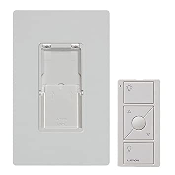 Caseta Wireless Pico Wall Mounting Kit, Pj2 Wall Wh L01, White by Lutron