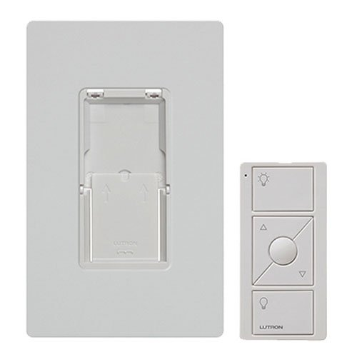 - Caseta Wireless Pico Wall-Mounting Kit, PJ2-WALL-WH-L01, White