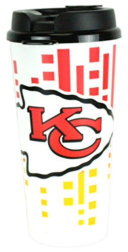 The Memory Company NFL Kansas City Chiefs Hype Travel Cup, -