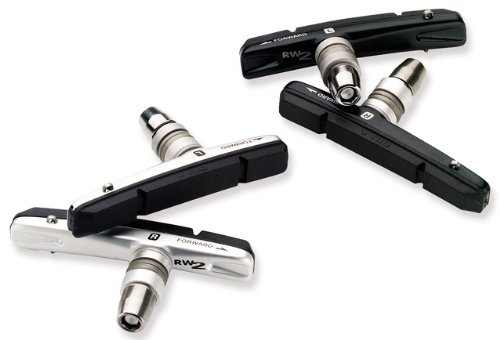 Avid Rim Wrangler 2 Bicycle Rim Brake Pad Set (Silver, Standard)