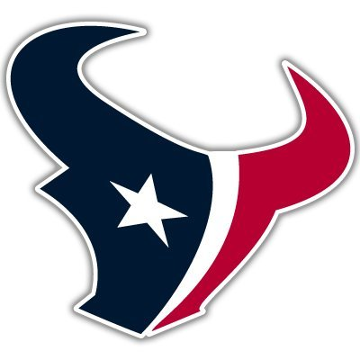 Crawford Graphix Houston Texans NFL Football Sticker 2 Pack 5