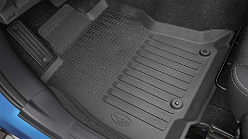 Subaru 2019 Forester All Weather Floor Liner Mats Black J501SSJ030 Front and Rear