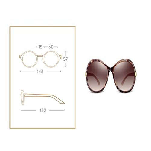 De De LQQAZY Grande Conducción Brown Caja Marea Gafas Gafas Sol Brown Polarizado Retro Femenino Gafas Sol BBA5vqwxr