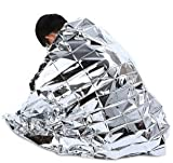 Cycling Store Brand new - 5PCS 210 x 130cm Portable Emergency Tent Rescue Blanket - SILVER