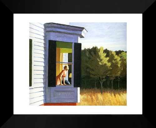 Cape Cod Morning 20x24 Framed Art Print by Hopper, Edward (Edward Hopper Cape)