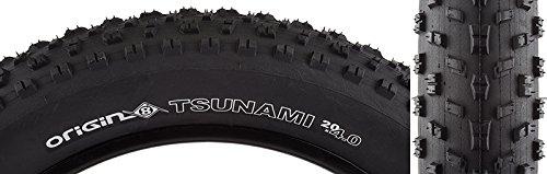 Origin8 Tsunami Folding Bead Fat Bike Tires, 20 x 4.0, Black/Black