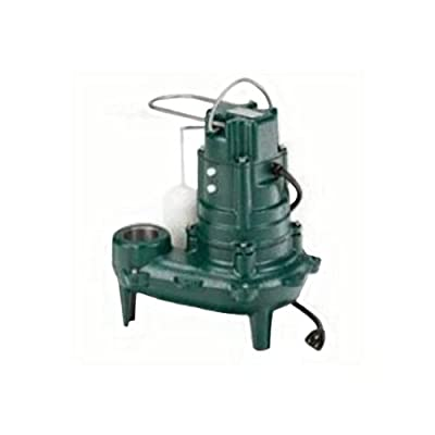 Zoeller 267-0006 M267-25 2-inch Sump Pump with 25 foot cord, 1/2 Horsepower