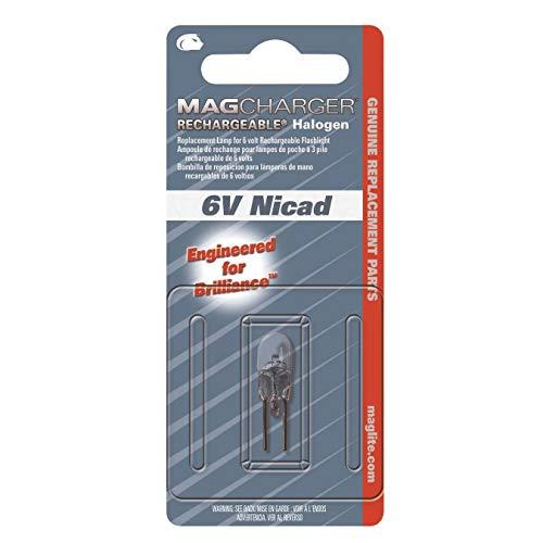 (MAG lite Charger Flashlight Bulb 6 volts Halogen Bi-Pin)