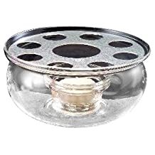 Yama Glass Warmer with Grid (5-Inch in Diameter)