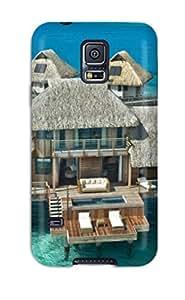 New Anna Paul Carter Super Strong Bora Bora Tpu Case Cover For Galaxy S5