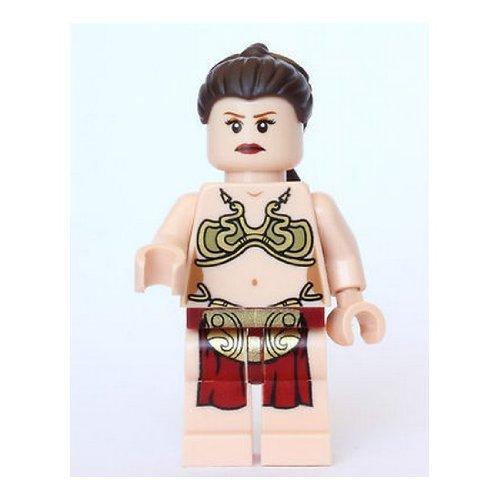 LEGO Star Wars Princess Leia Minifig Minifigure in Jabba Slave Outfit ()
