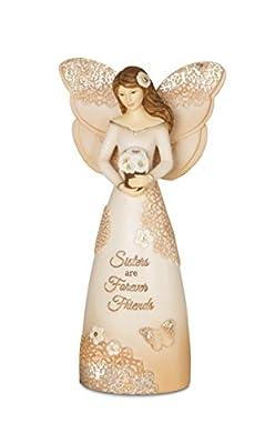 Pavilion Gift Company 19076 Sister Angel Figurine, 6-Inch