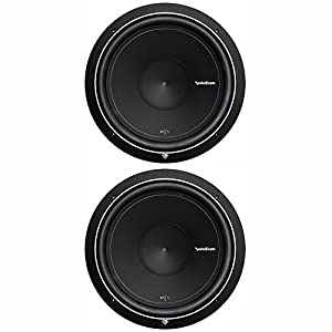 "Rockford Fosgate Pair Of 2 Punch P1 15"" 1000W 4-Ohm SVC Subwoofers 