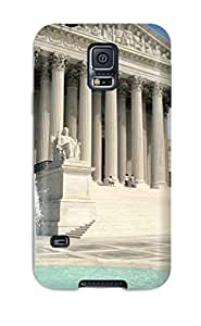 Galaxy S5 Case Cover With Shock Absorbent Protective QPzCyQD3753xXcLc Case