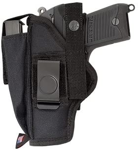 Ace Case Gun Holster with MAG Pouch FITS Glock 17,19, 22, 23, 31 - Made in U.S.A. 41ta2BsbmjDL