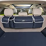 YoGi Prime car Organizer, Trunk Storage, Trunk Organizer Will Provides You The Most Storage Space Possible, Use It As A Back Seat StorageCar Cargo Organizer and Free Your Trunk Floor (Black-Hang)