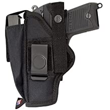 KORTH 9MM, 9X21 IMI, .357 SIG, .40 S&W, .45 ACP HOLSTER FROM ACE CASE - MADE IN U.S.A.