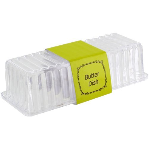 GOV 1272977 Acrylic Plastic Butter Dish, One Size, Clear