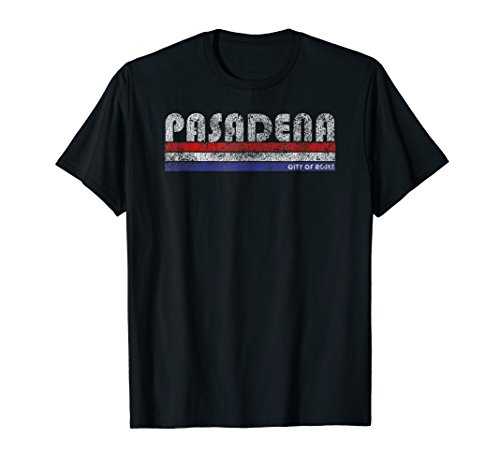 Vintage Pasadena CA City of Roses Throwback T-Shirt