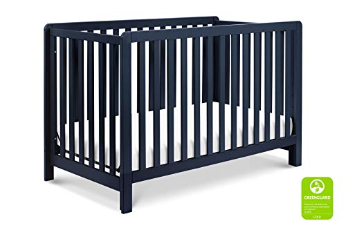 Carter's by DaVinci Colby 4-in-1 Low-Profile Convertible Crib in Navy Blue | Greenguard Gold Certified