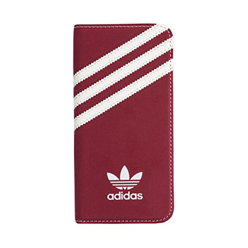adidas Originals 24264 Suede Booklet Schutzhülle für Apple iPhone 6/6s rot