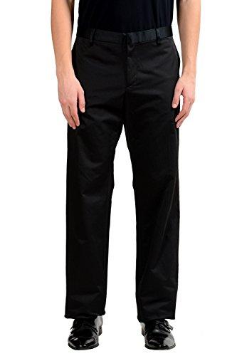Cnc Costumes National Dresses (C'N'C Costume National Men's Black Dress Pants US 40 IT 56)