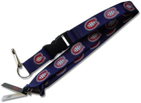 aminco NHL Minnesota Wild Lanyard Keychain Id Ticket Clip Green