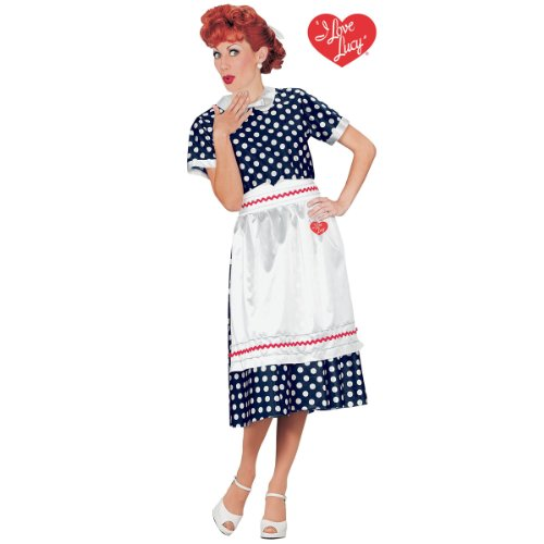 I LOVE LUCY POLKA DOT DRESS SM