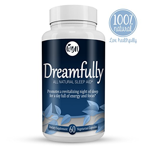 DREAMFULLY Natural Sleep Aid – Melatonin, Magnesium, Chamomile & Valerian Herbal Blend to Support a Calm & Relaxed Night – 60 Vegetarian Capsules Review