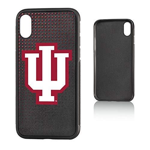 Keyscaper KBMPIX-00IU-DOTS01 Indiana Hoosiers iPhone X/XS Bump Case with Dots Design