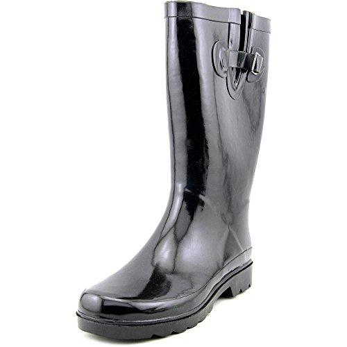 143 Girl Tallis Women Black Rain Boot