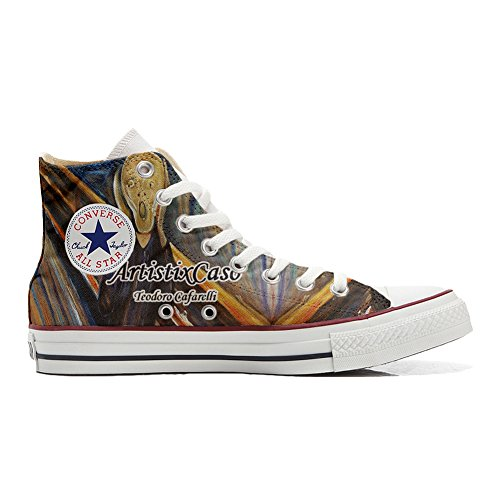Converse All Star chaussures coutume (produit artisanal) Urlo di Munch