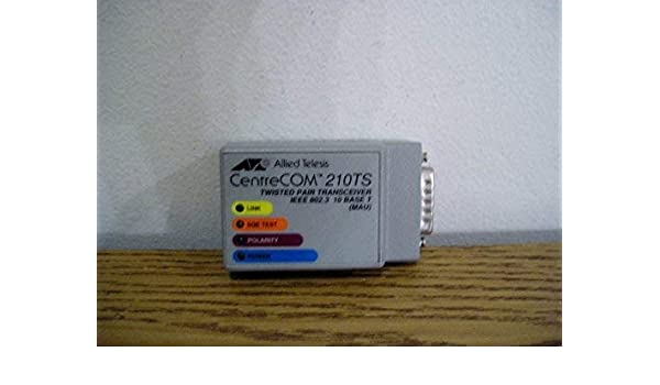 CENTRECOM 210T AT-210T Twisted Pair Transceiver 2 year warranty Real Time
