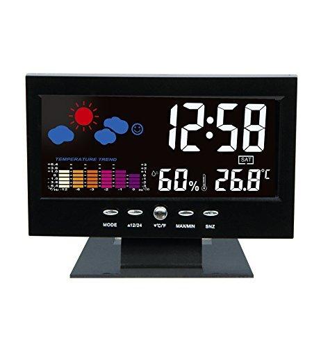 Digital Nightlight Snoozer Temperature Humidity