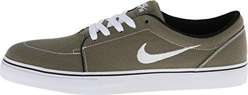 Nike Formateurs Hommes De Toile De Satire 555380 Espadrilles Moyen Dolive Blanc Olive Noir Moyen 212