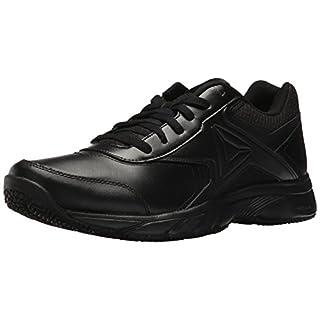 Reebok Men's Work N Cushion 3.0 Walking Shoe, Black, 10 M US