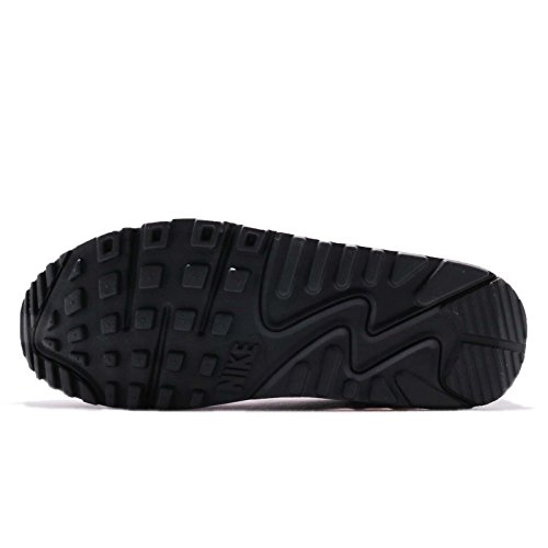 Nike Vrouwen Air Max 90 Loopschoen Wit / Zwart-stof-solar Rood