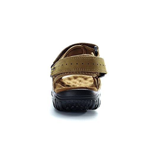 Miyoopark UK-XCR053, Herren Sandalen, Grün - Khaki - Größe: 39 EU