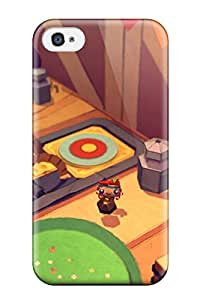 Hot Defender Case For Iphone 4/4s, Tearaway Unfolded Pattern
