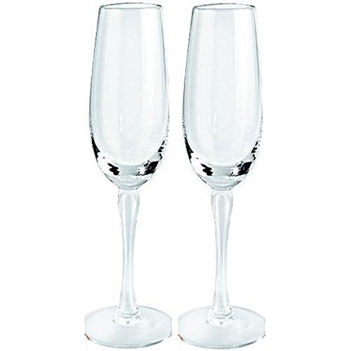 Lalique Crystal Royal Champagne Flutes Set of 2 (Lalique Flute)