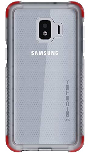 Ghostek Covert Designed for Galaxy J2 Core Case J2 Dash J2 Pure Clear Phone Cover Silicone Bumper Ultra Thin Slim Fit Skin Military Grade Shockproof Heavy Duty Protection & Anti-Slip Grip - (Clear)