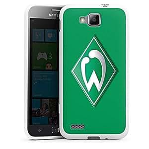 Funda de silicona Samsung Ativ S cáscara Werder Bremen verde - blanco