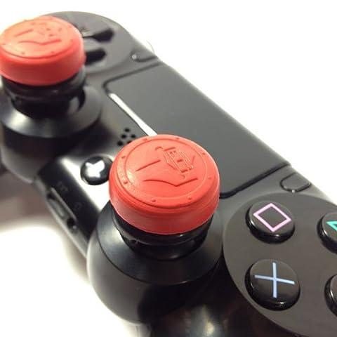 Battle Grip Sparta MX (PS4) - Thumb Grip/Extender for PlayStation 4 Controller (Ps4 Extender Thumb Sticks)