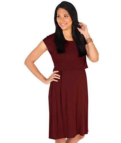 Double Layer Jersey Dress - 5