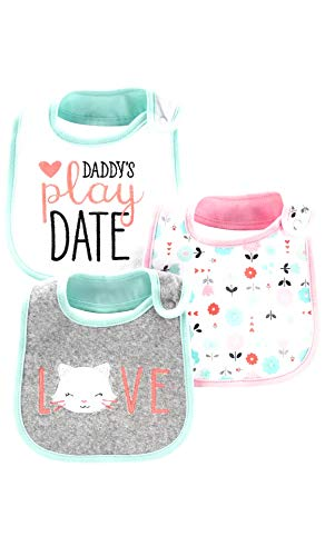 child of mine by carters baby girl bibs