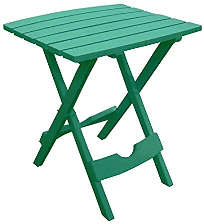 Amazon adams mfg 8500 43 3731 patio side table quick fold adams mfg 8500 43 3731 patio side table quick fold emerald watchthetrailerfo